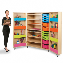 Bubblegum Multi Purpose Art Cupboard